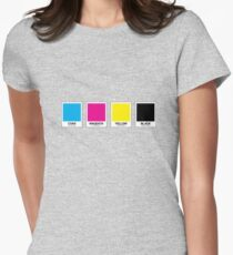 CMYK 13 Women's Fitted T-Shirt