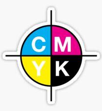 CMYK 14 Sticker