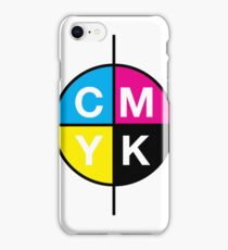 CMYK 14 iPhone Case/Skin