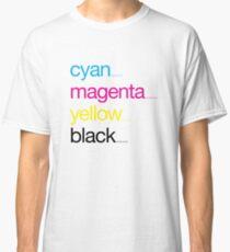 CMYK 17 Classic T-Shirt