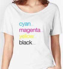 CMYK 17 Women's Relaxed Fit T-Shirt