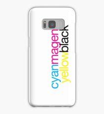 CMYK 18 Samsung Galaxy Case/Skin