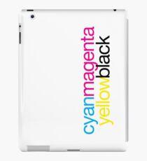 CMYK 18 iPad Case/Skin