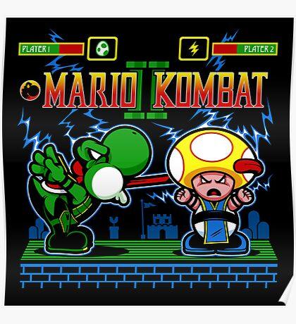Mario Kombat II Poster