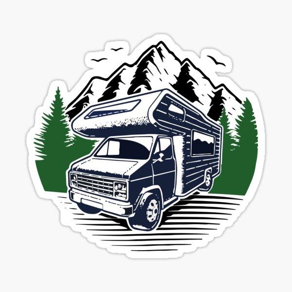 Combi van Classic T-Shirt Sticker