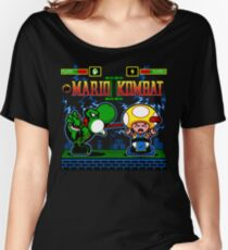 Mario Kombat II Women's Relaxed Fit T-Shirt