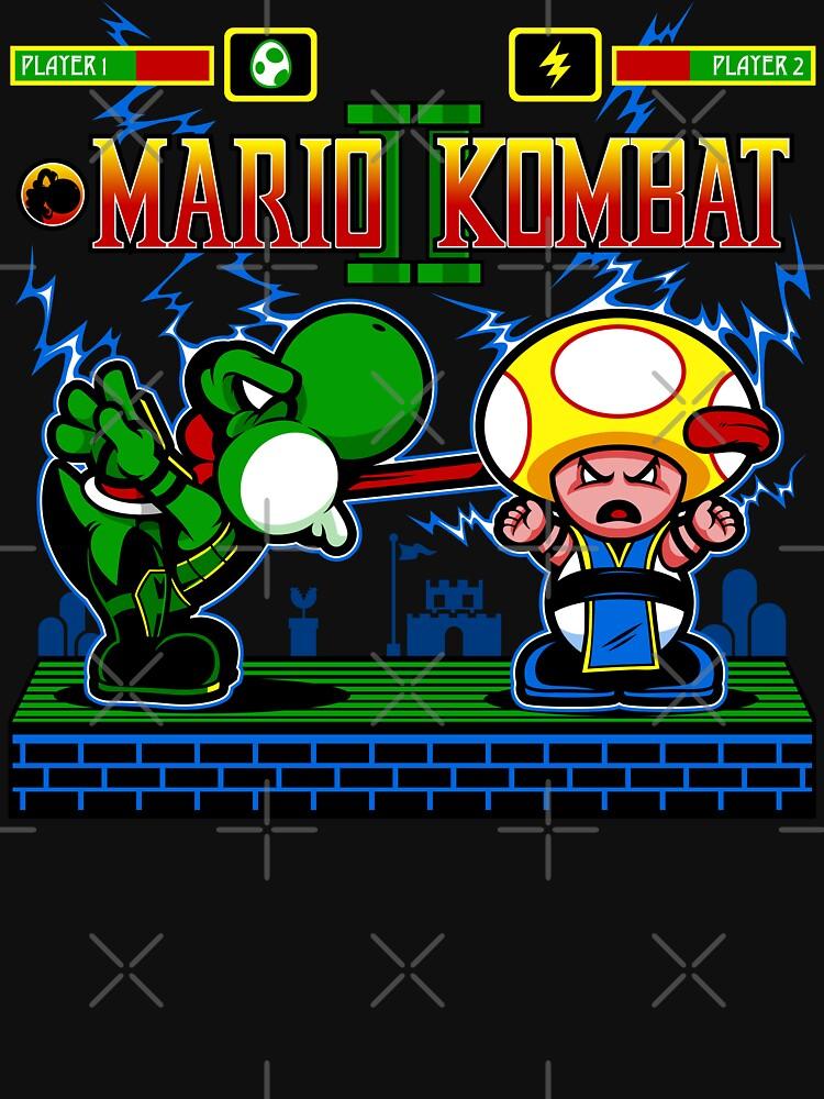 Mario Kombat II | Unisex T-Shirt