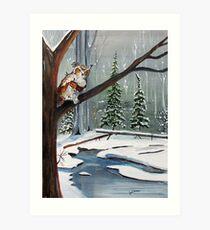 Daybreak Hunt Art Print