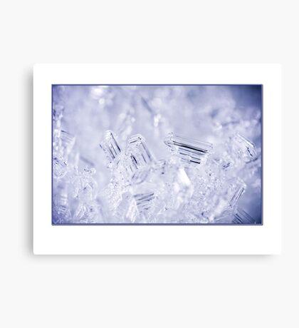 ICY CRYSTALS Canvas Print