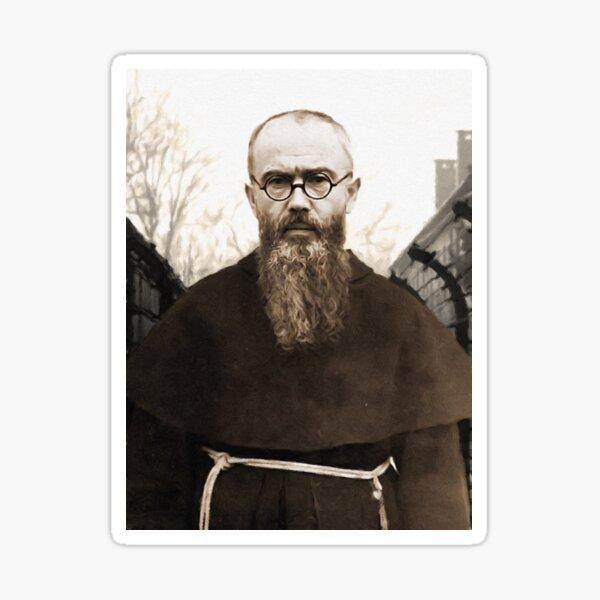 Saint Maximilian Kolbe Sticker