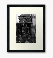 Build... Framed Print