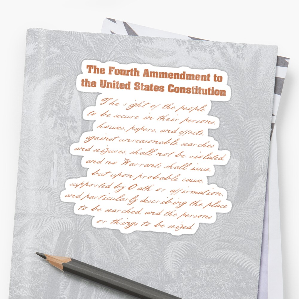 an analysis of the fourth amendment to the constitution Analysis & reports bapcpa report  the constitution, through the fourth amendment, protects people from unreasonable searches and.
