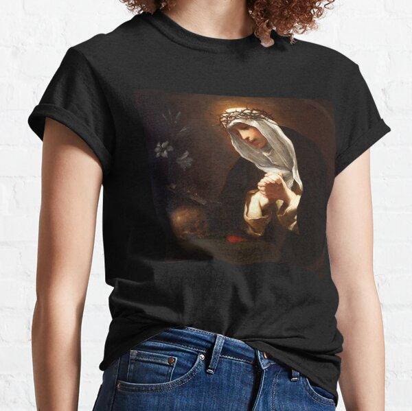 Saint Catherine of Siena (painting by Baldassare Franceschini) Classic T-Shirt