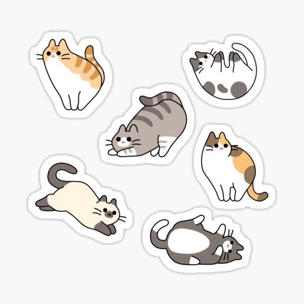 paquete de pegatinas de gato Pegatina