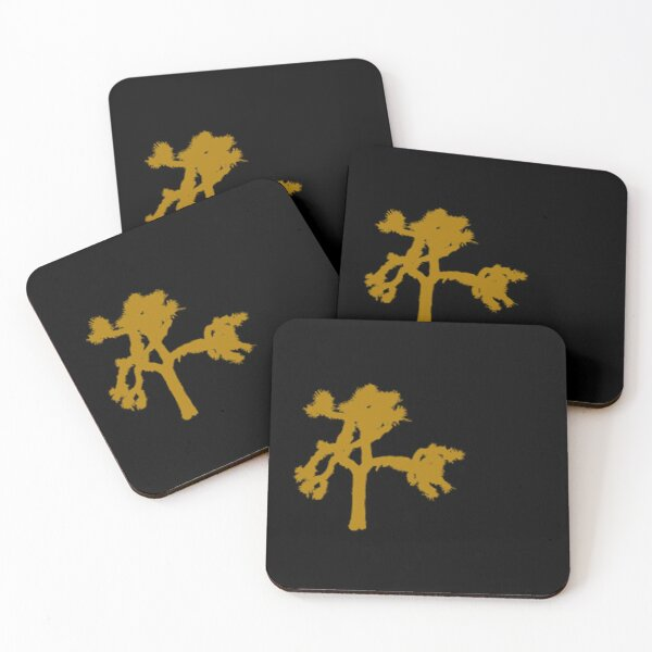 U2 Large Joshua Tree Coasters (Set of 4)