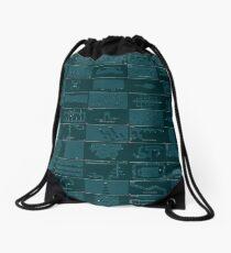 N++ Levels - Blue Drawstring Bag