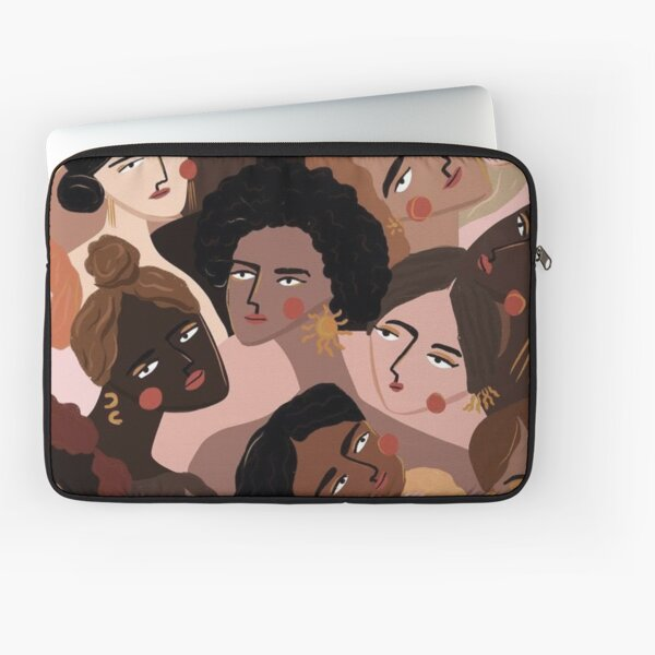 Womens Supporting Women Black Life Matters Laptop Sleeve
