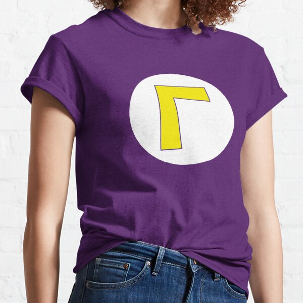 Waluigi logo L T-shirt  Classic T-Shirt