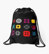 N++ Pattern  Drawstring Bag
