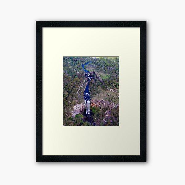 Ebor Falls Framed Art Print