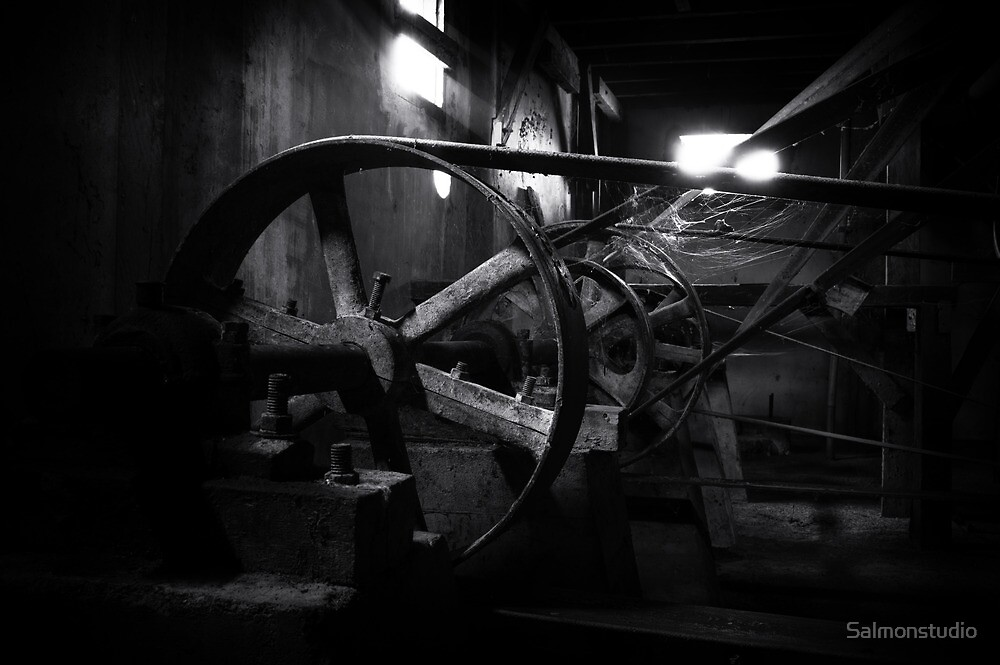 Old factory machine by Salmonstudio