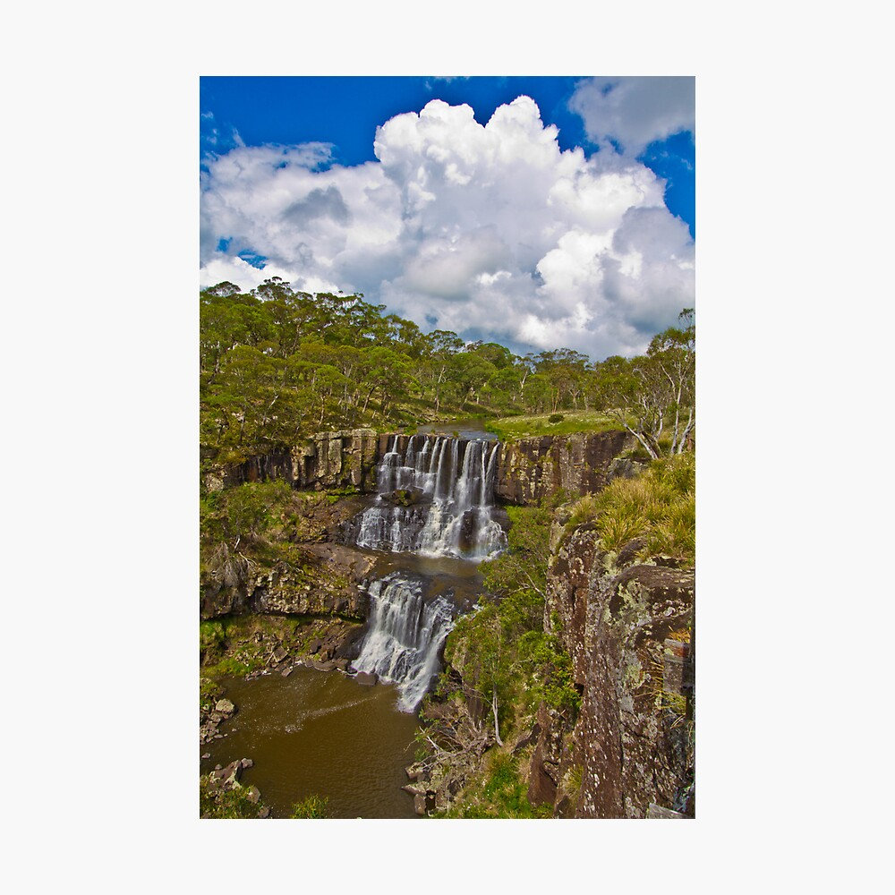 Ebor Falls Lookout Photographic Print