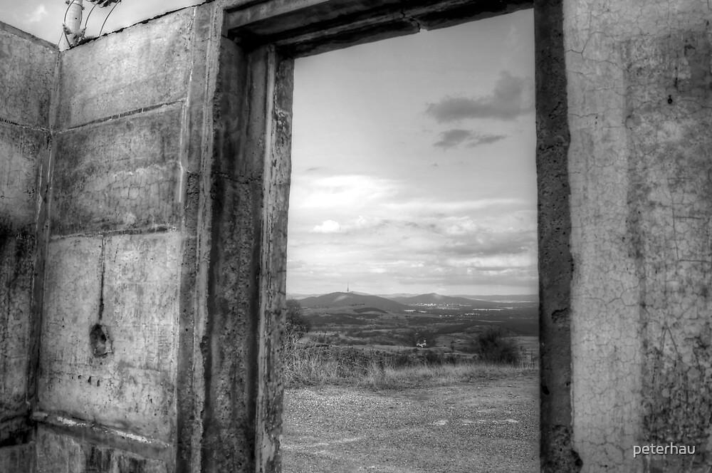 Canberra View - BW by peterhau