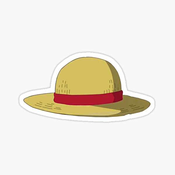 chapeau LUFFY  Sticker