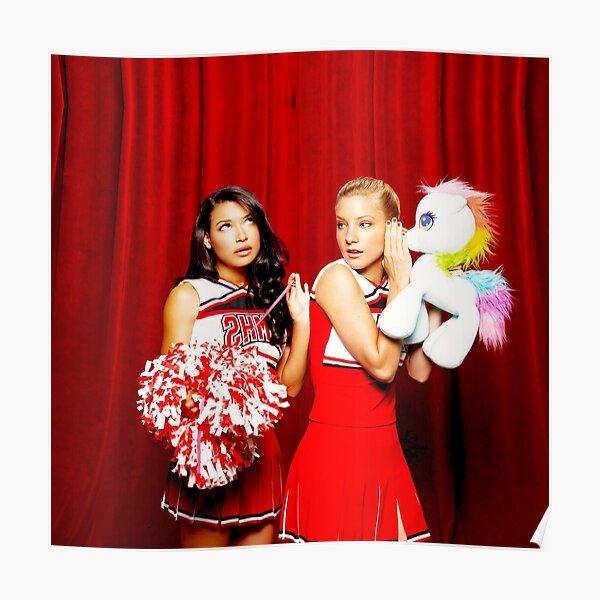 Brittana (Brittany & Santana - GLEE) Poster