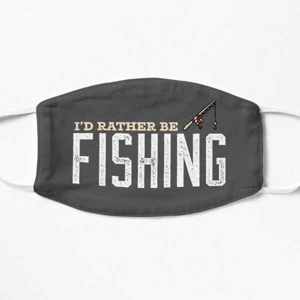 I'd Rather Be Fishing Mask