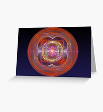 Dilithium Crystal Greeting Card