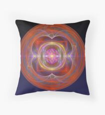 Dilithium Crystal Throw Pillow
