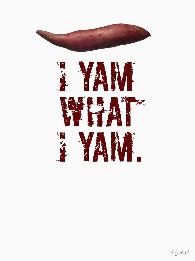 I yam what I yam by digerati