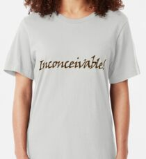 inconceivable Slim Fit T-Shirt