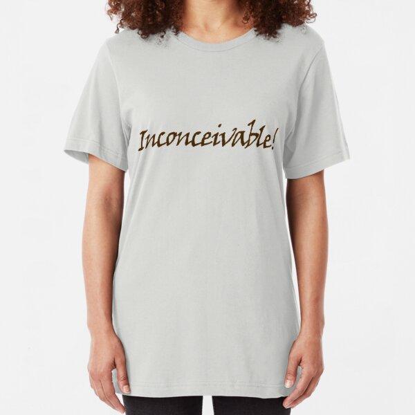 inconceivable Slim Fit T-Shirt