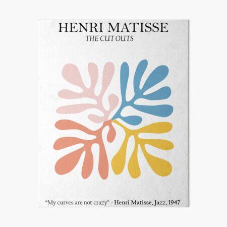 Henri Matisse - Los recortes - Matisse Prints Lámina rígida