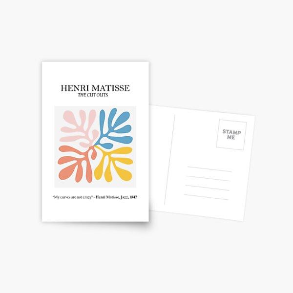 Henri Matisse - The Cutouts - Matisse Prints Postcard