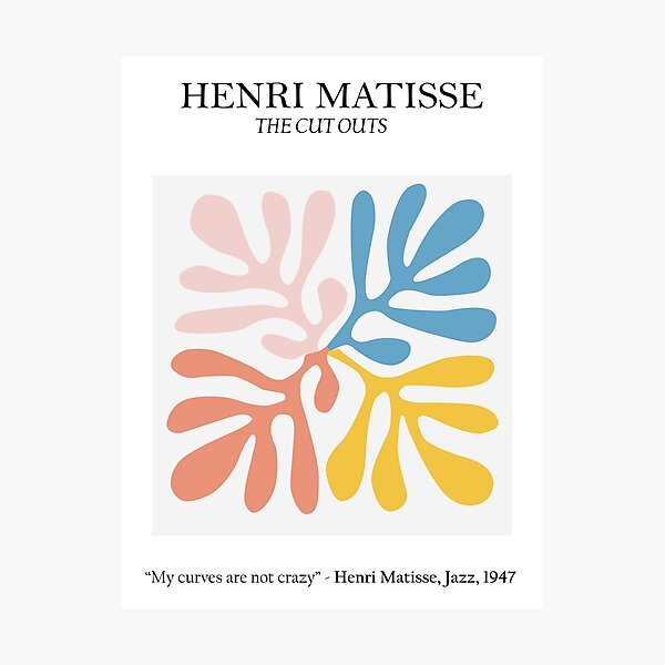 Henri Matisse - The Cutouts - Matisse Prints Photographic Print