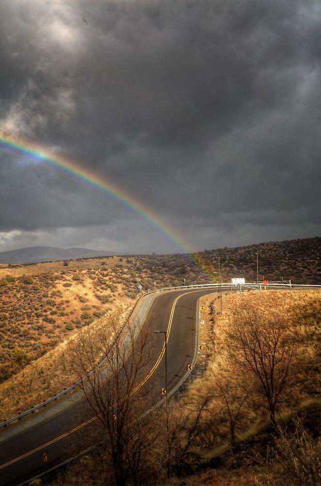 Drive By Rainbow by Bob Larson