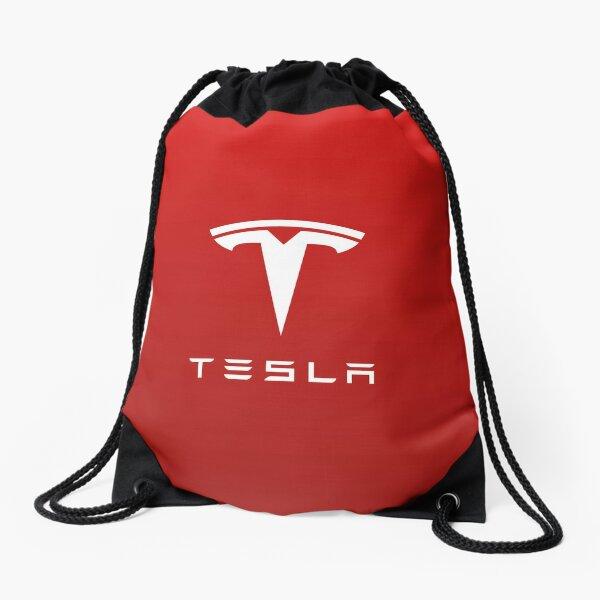 Tesla Motor Logo for Laptop & Mobile Skins / Cases Drawstring Bag