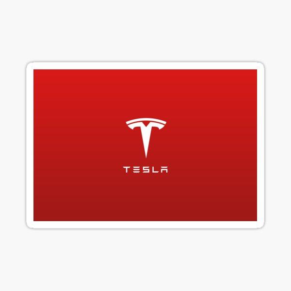 Logo de moteur Tesla pour skins / étuis pour ordinateur portable et mobile Sticker