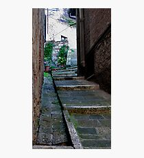 Wear Worn Steps Photographic Print