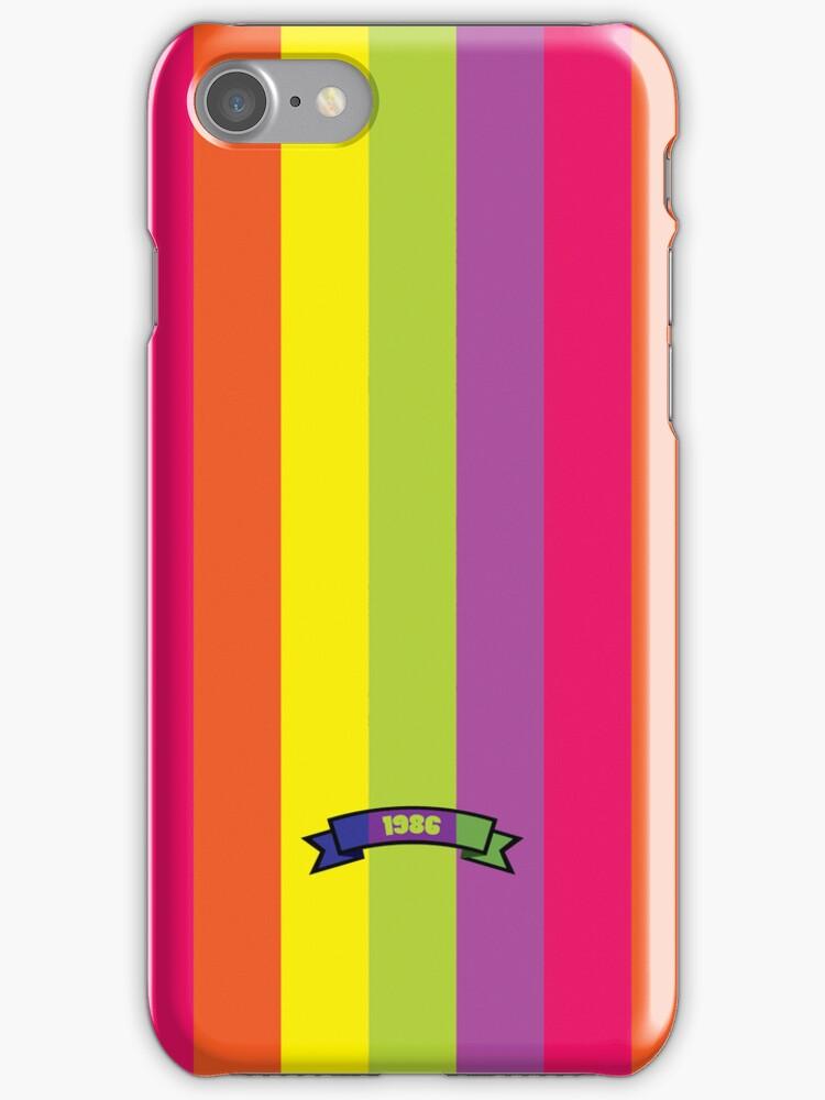 Bright Color Stripe Pattern by thejoyker1986