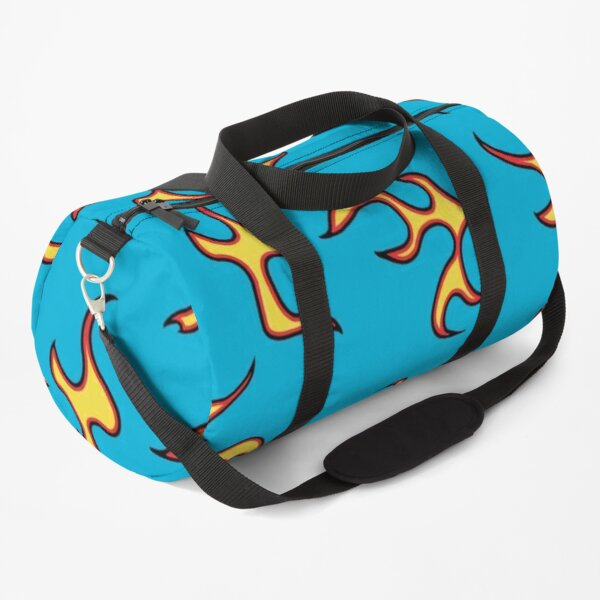 Golf Wang Flames pattern Duffle Bag