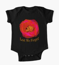 Lest We Forget, Poppy One Piece - Short Sleeve