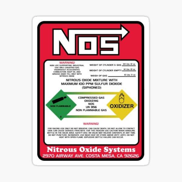 Nos | Nitrous Oxide Sticker
