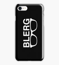 Blerg2 the revenge iPhone Case/Skin