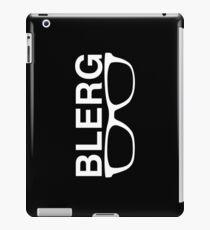 Blerg2 the revenge iPad Case/Skin