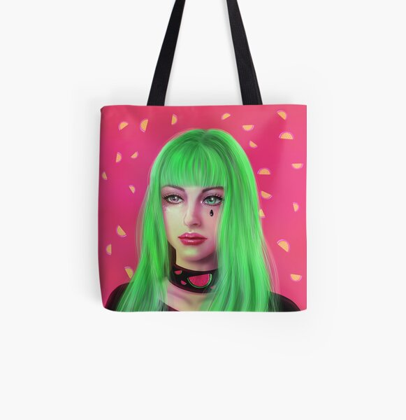 Watermelon Summer All Over Print Tote Bag