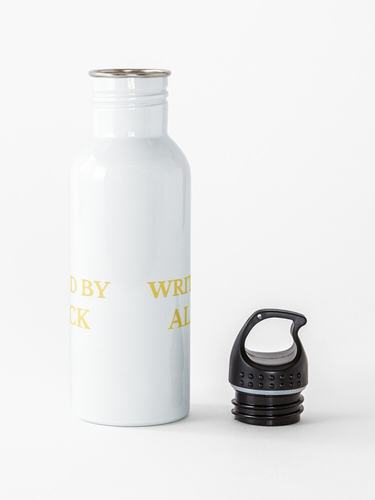 Alternate view of Written and Directed by Alfred Hitchcock Water Bottle